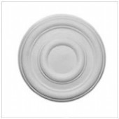 14 Inch Plain Plaster Ceiling Rose 356mm